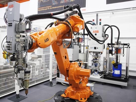 JINPAT Electrical Slip Ring nell'applicazione della robotica