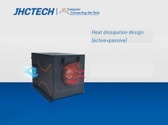 Efficace dissipazione del calore e facile smontaggio