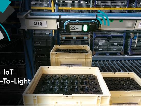 Sistema pick-to-light