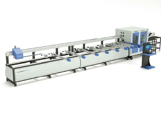 NUOVO rapidcut 500 - taglio di profilo del PVC e centro di lavorazione
