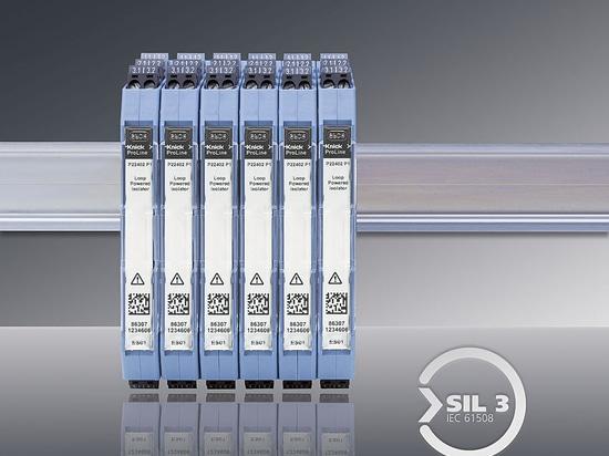 Sezionatori passivi del segnale normale con sicurezza funzionale fino a SIL 3