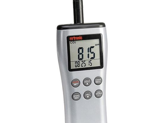 ROTRONIC CP11 - Strumento portatile per CO2, umidità e temperatura
