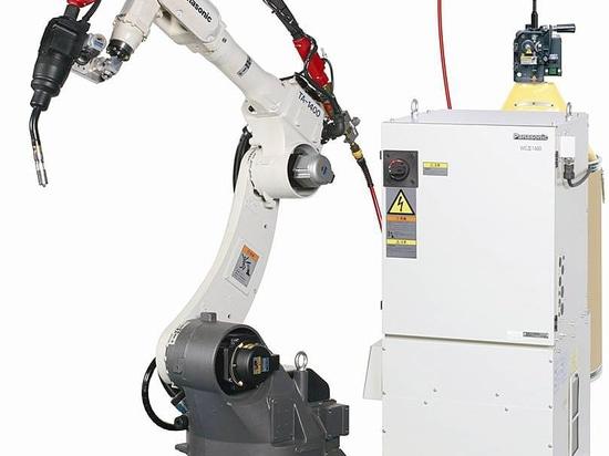 Nuovo sistema del robot della saldatura dell'alluminio MIG di TAWERS