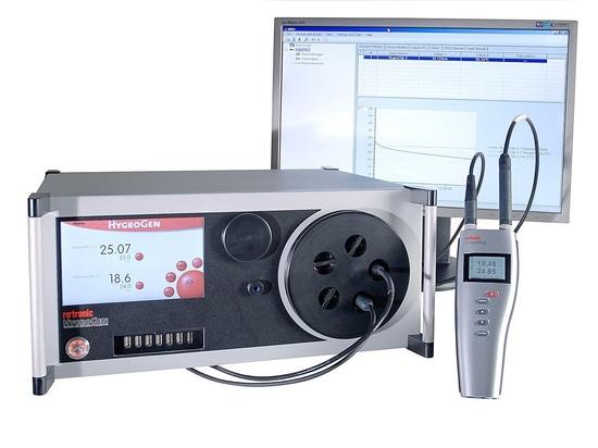 Automatizzare la calibrazione con le nuove funzioni del Rotronic HygroGen2!