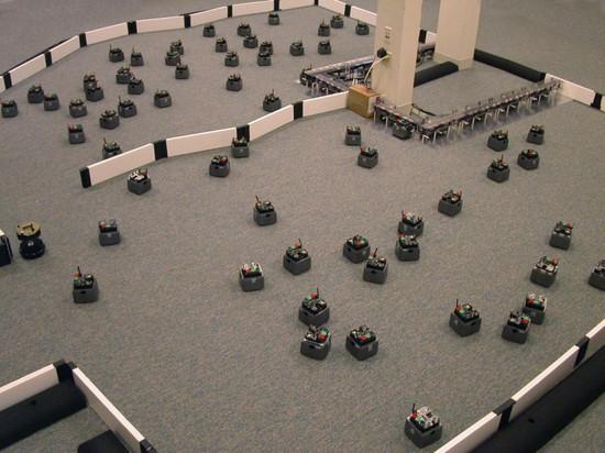 SFORZO DI COLLABORAZIONE TRAMITE I RISULTATI DEL ROBOTS PRODUCES