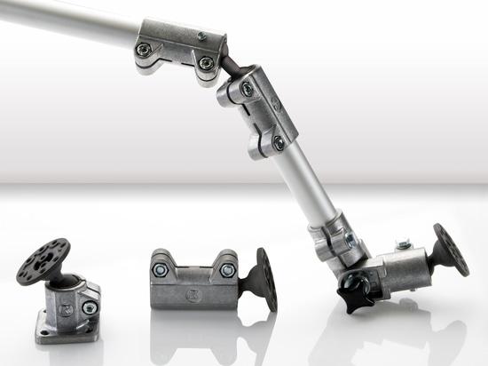 Connettori tubolari in alluminio