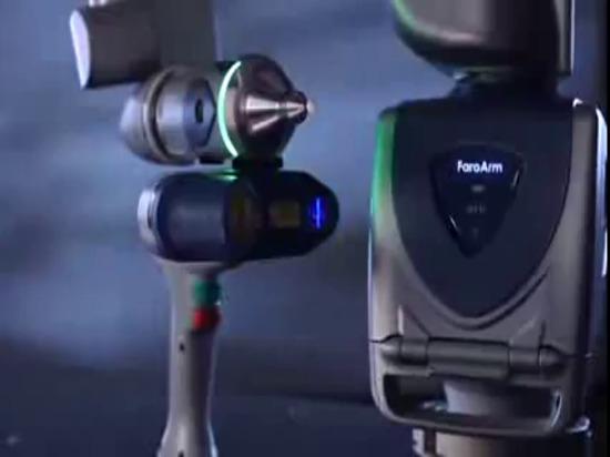 Braccio di misurazione di Scanarm HD del bordo di FARO: Video del prodotto