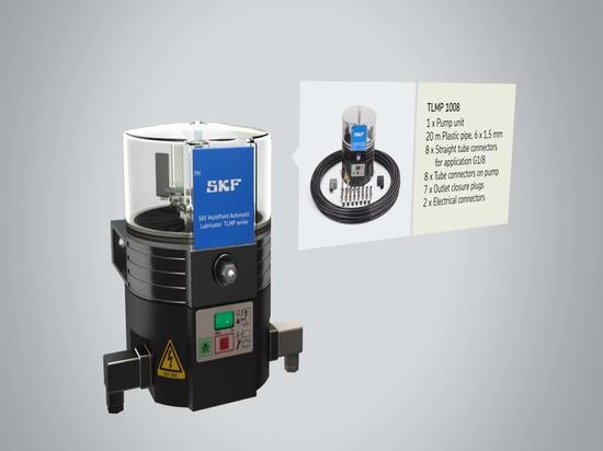 Serie automatica multipunto del lubrificatore TLMP di SKF