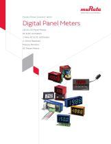 Digital Panel Meters Data Book