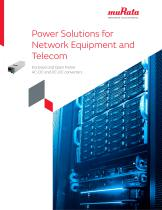 Power Solutions for Network Equipment and Telecom