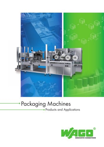 Interesting applications: packaging machines