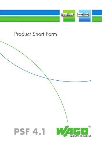 PSF 4.1 E Product Shortform (S 773)