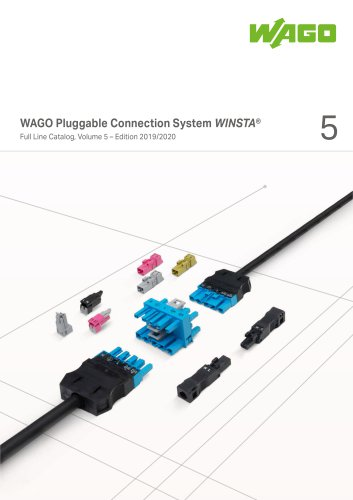 WAGO Pluggable Connection System WINSTA®