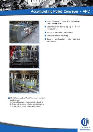 Accumulating Pallet Conveyor