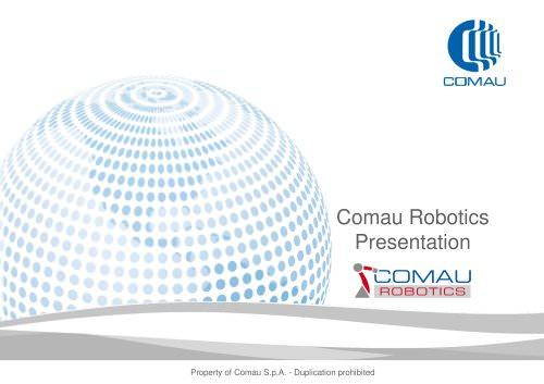 Comau Robotics Presentation
