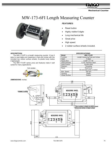 Length Measuring Counters