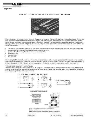 Magnetic Proximity Sensors