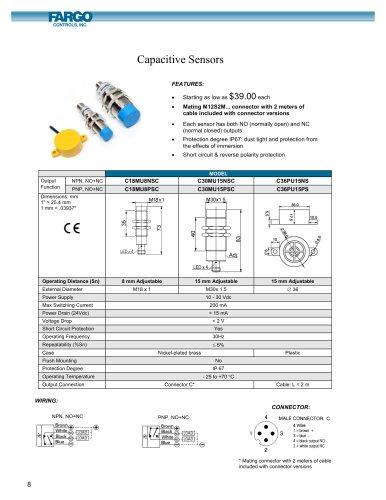 Value Line Capacitive Sensors
