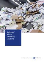 Archive shredding solutions