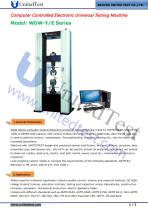 100KN ELECTRONIC TRACTION TEST MACHINE