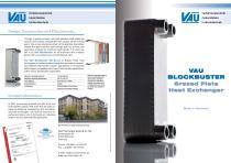 VAU BLOCKBUSTER Brazed Plate Heat Exchanger