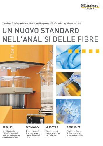 FIBRETHERM® - Un nuovo standard nell'analisi delle fibre