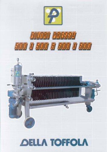 Filtri Pressa 500x500 & 600x600