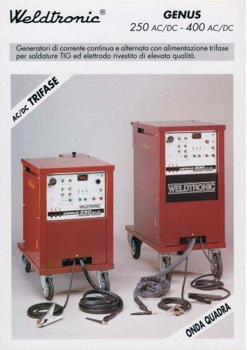 GENUS 250 - 400 AC / DC