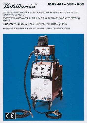 MIG 411 - 531 - 651