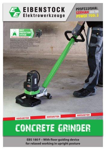 Concrete grinder EBS 180 F