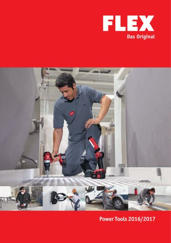 Catalogue Power Tools 2016/17