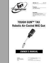TOUGH GUN TA3 Robotic Air-Cooled MIG Guns for FANUC Robots Owner's Manual