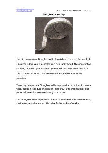 BSTFLEX high temperature Fiberglass ladder tape