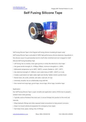 BSTFLEX Self Fusing Silicone Tape
