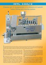 MTL-100/2 automatic tube filling machine