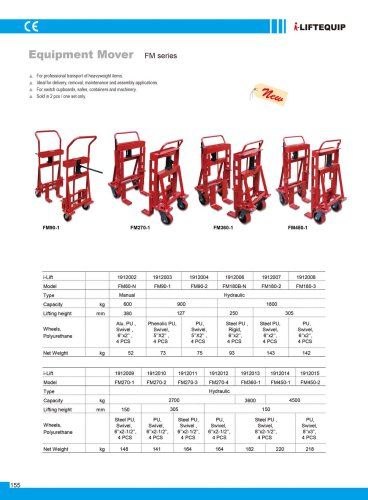 i-Lift Equipment Mover FM