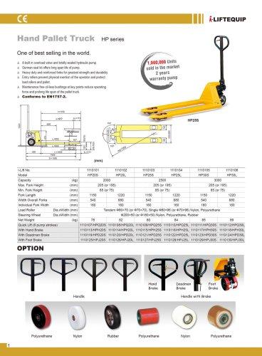 i-Lift Hand Pallet Truck HP