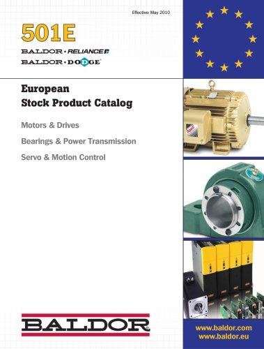 European Stock Product Catalog