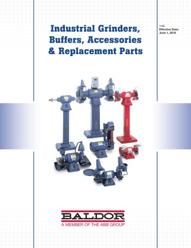 Industrial Grinders, Buffers, Accessories & Replacement Parts