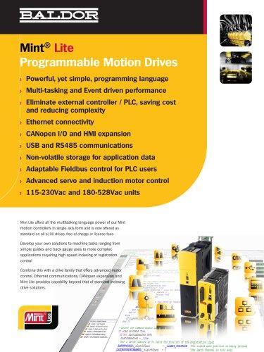 Mint Lite Programmable Drives