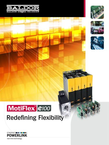 MotiFlex e100 ETHERNET Powerlink 3 Phase Servo Drive