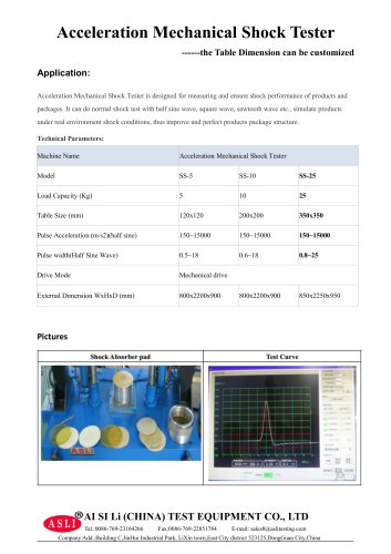 resistance test equipment / shock resistant / for solar cells / vehicle SS-25