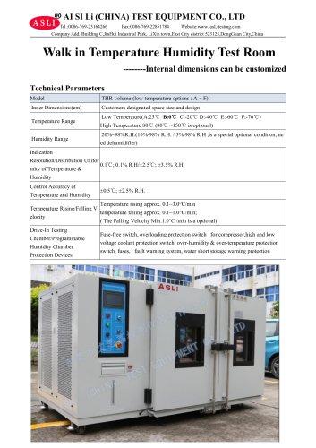 temperature test machine / stability / resistance / vehicle THR-4500-D
