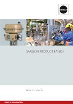 SAMSON Product Range (Product catalog)