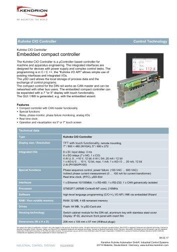 Kuhnke CIO Controller