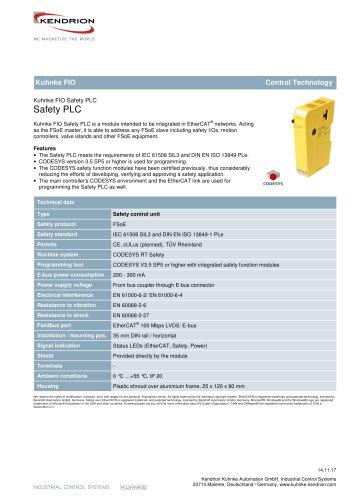 Kuhnke FIO Safety PLC