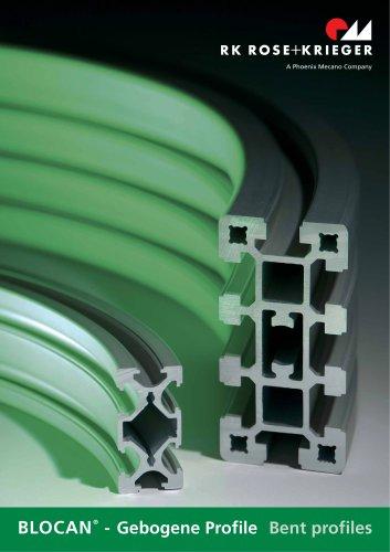 BLOCAN ®  - Gebogene Profile Bent profiles