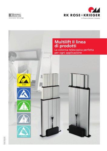 Famiglia di prodotti Multilift II (colonna telescopica)