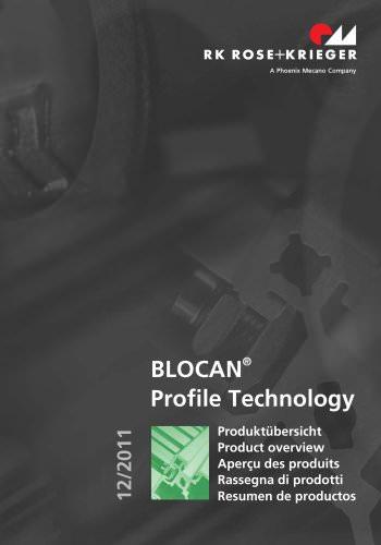 Rassegna di prodotti – Sistemi di profilati BLOCAN