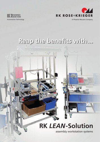 RK LEAN-Solution, workstation systems